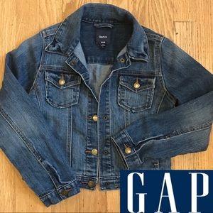 Gap kids size med denim jacket